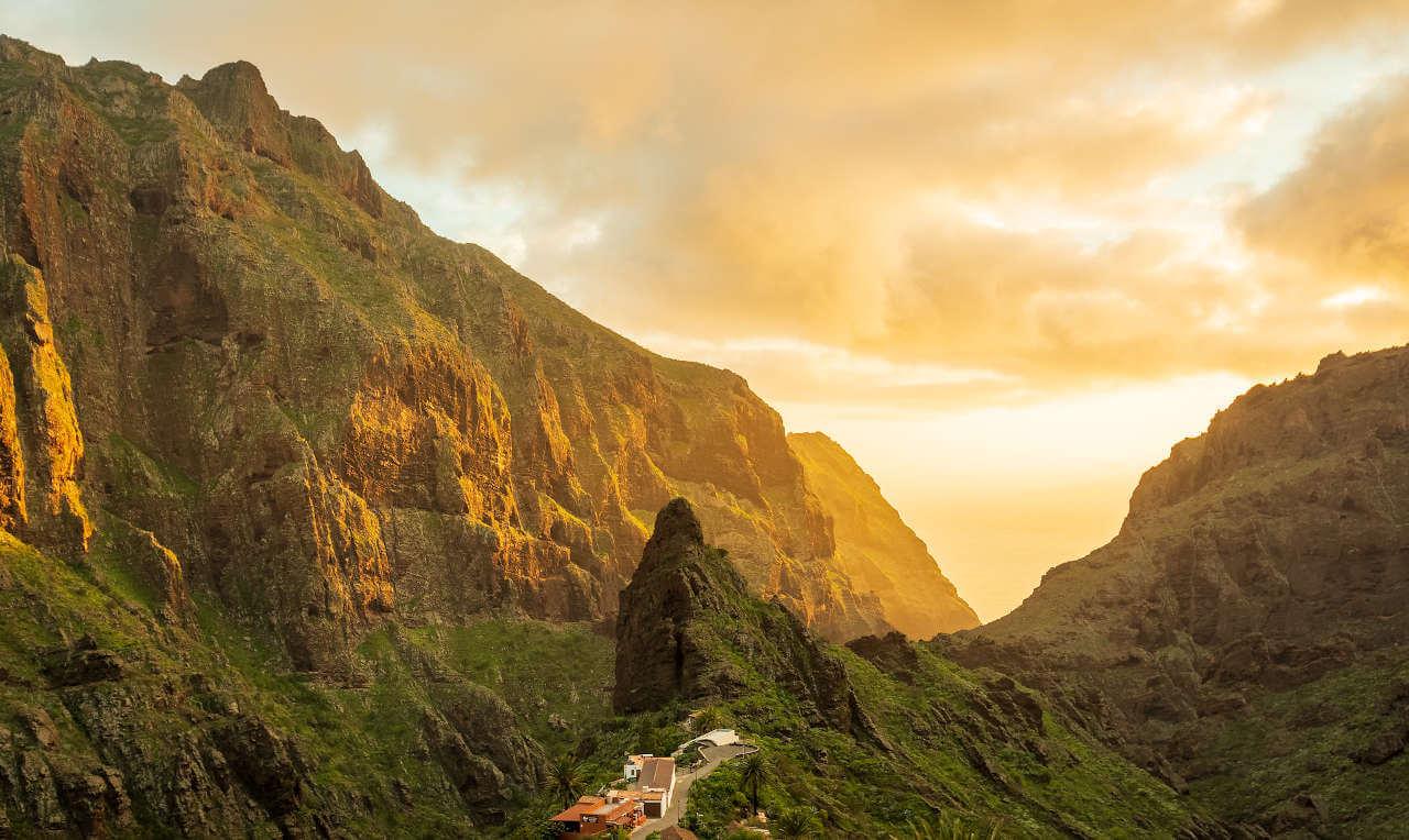 Coucher de soleil sur Tenerife